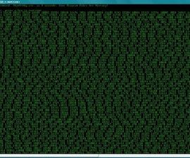 Batch Matrix Shutdown Screen