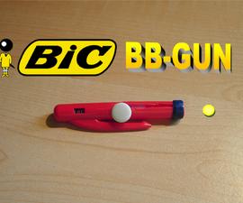 BIC BB-GUN (very easy - fun in the classroom!)