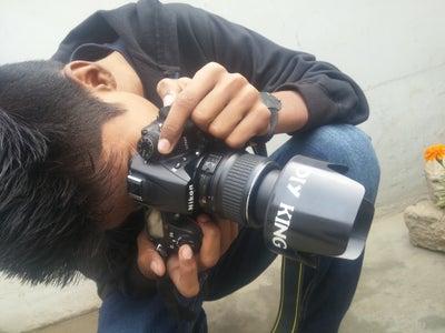 DIY Lens Hood for DSLR Camera