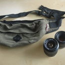 Turn Waist Bag into Lens Bag