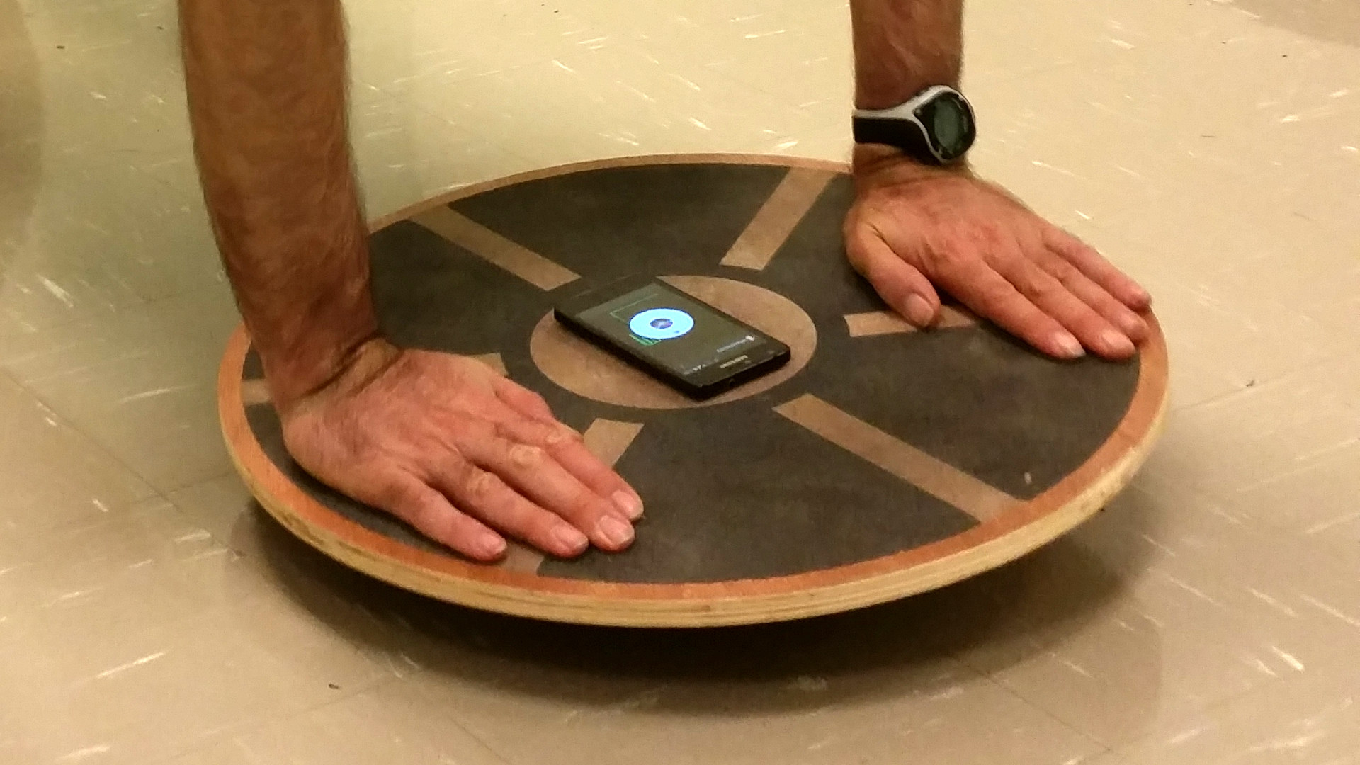 Picture of PlankPoint™: the Planking Board That's a Game Controller, Joystick, or Mouse