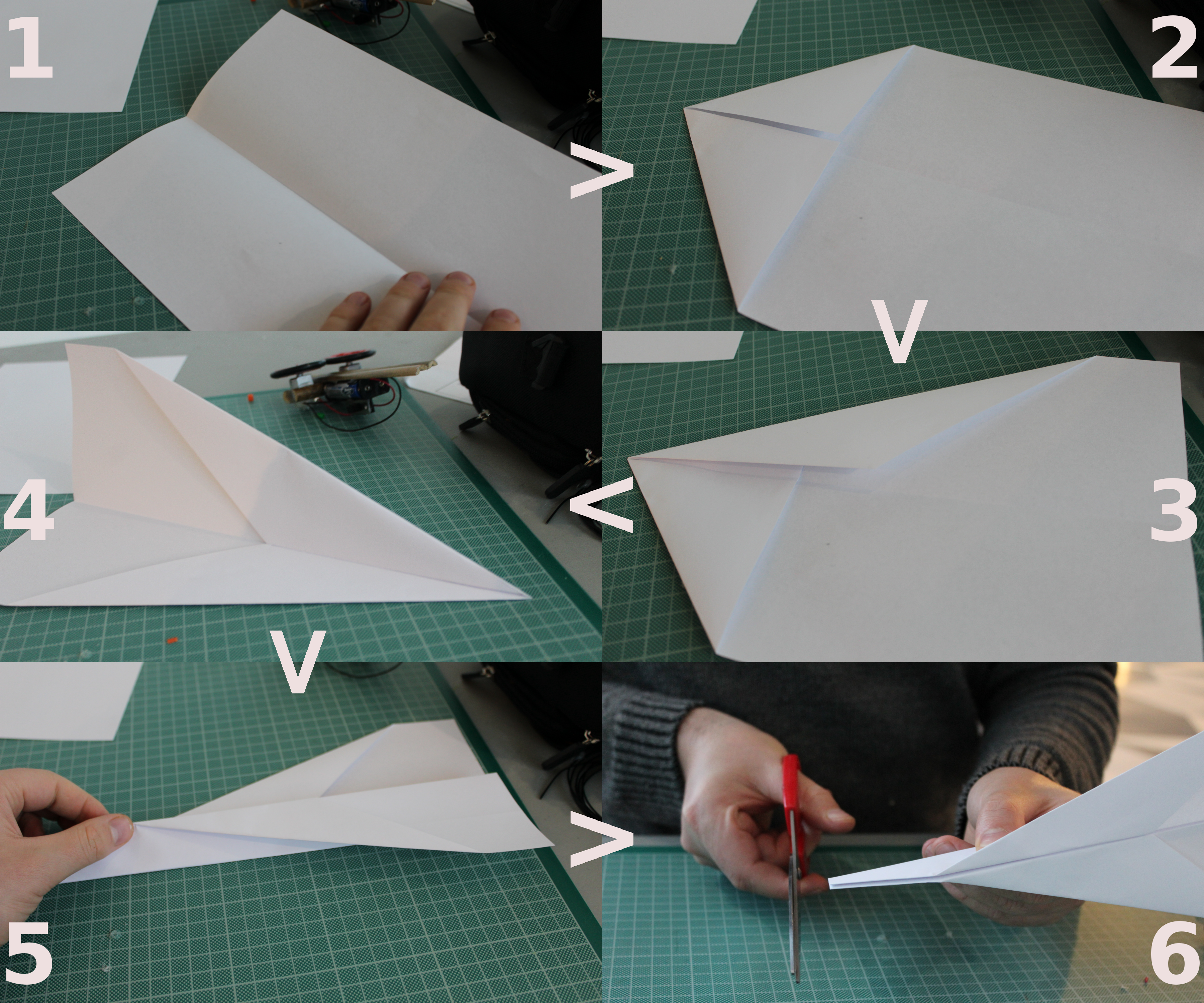 Picture of LET'S MAKE a PAPER PLANE