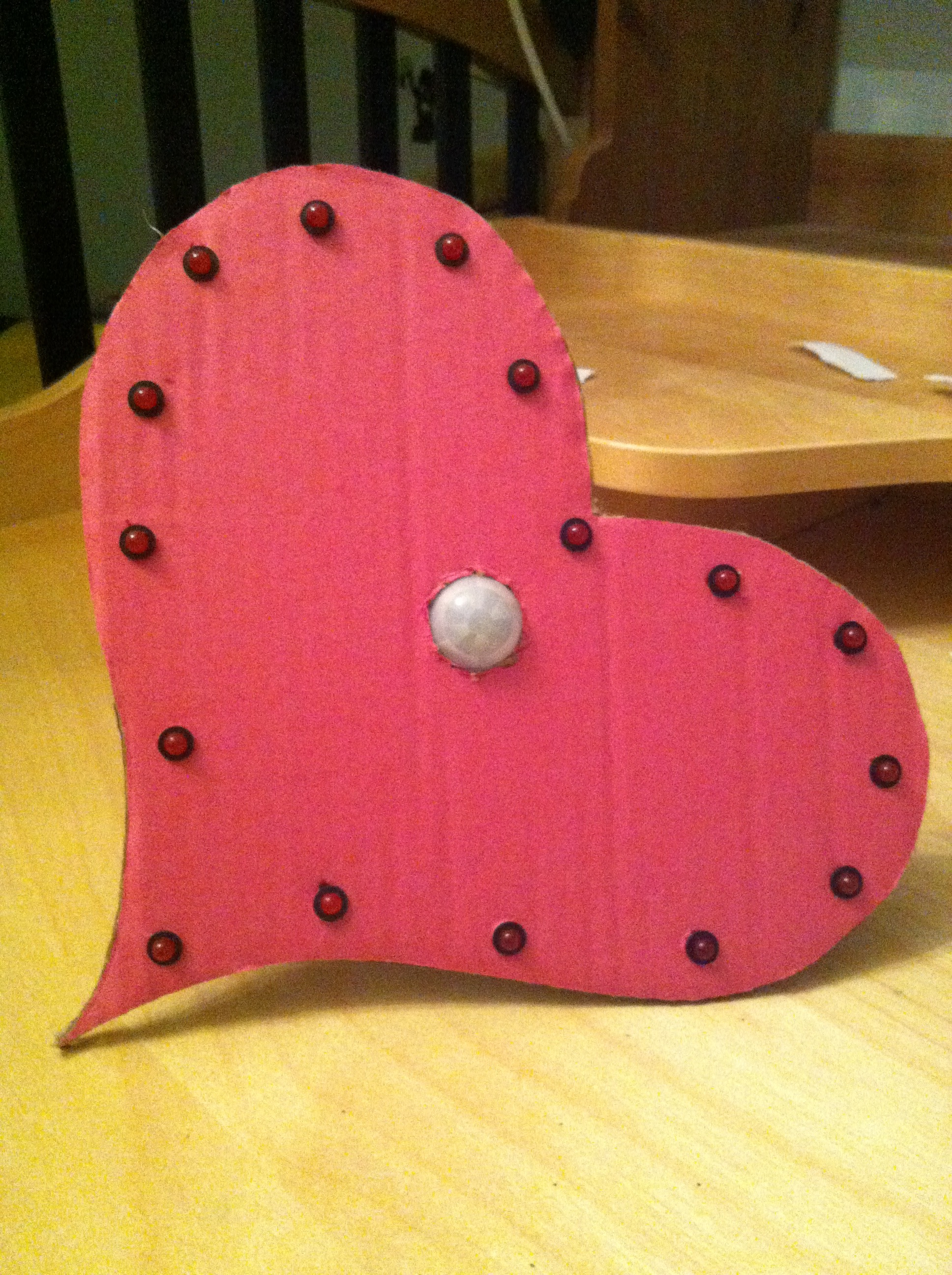 Picture of Valentines Day Motion Activated LED Heart