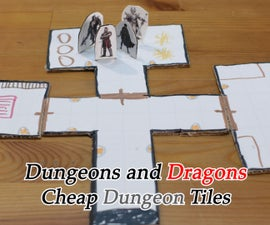 Dungeons and Dragons Dungeon Tiles on the Cheap!