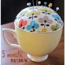 DIY: No-Sew Teacup Pincushion