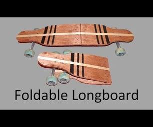Portable Folding Longboard