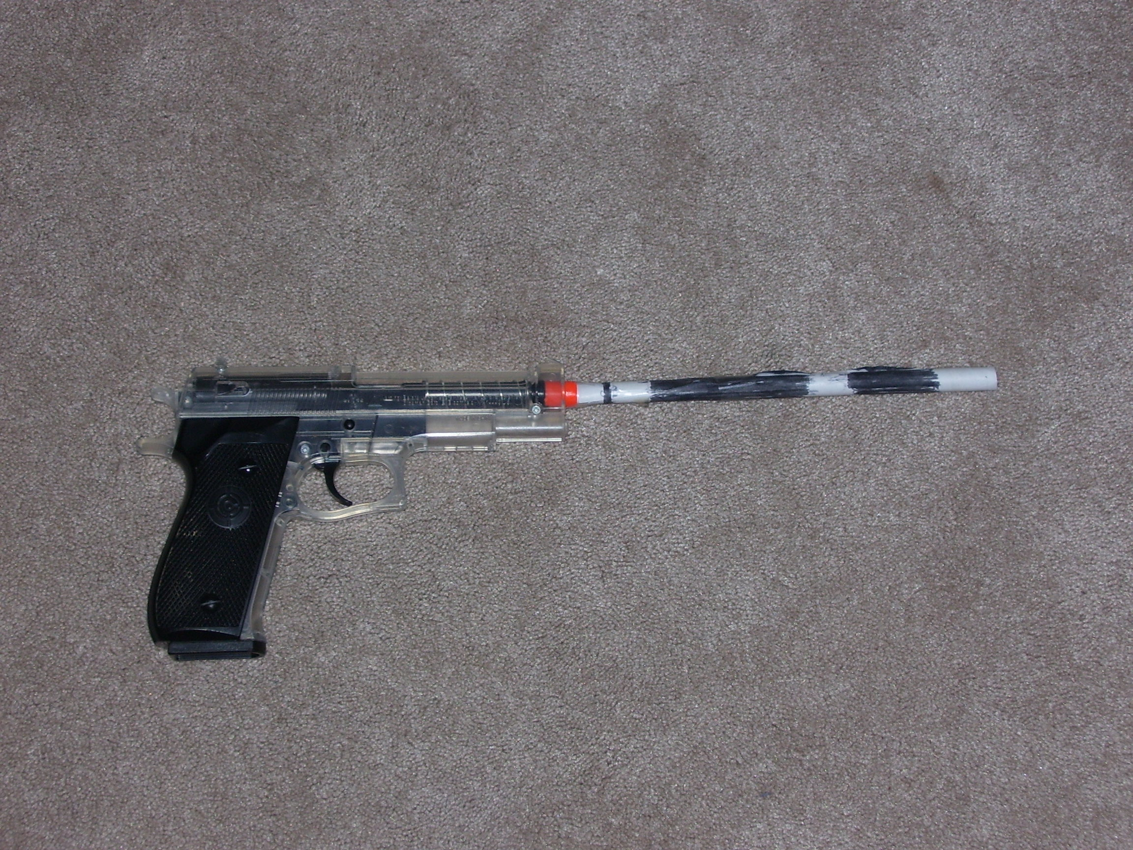 Picture of Paper Airsoft Silencer/ Plus Better Accuracy!