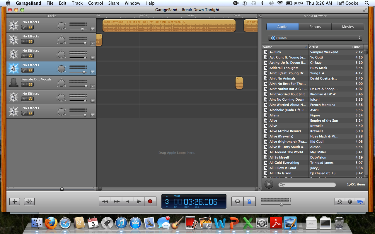 How to Edit Songs From Your ITunes Library on GarageBand: 9 Steps