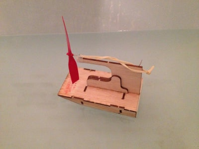 """Rubber Powered Airboat """"I Made It at Techshop"""""""