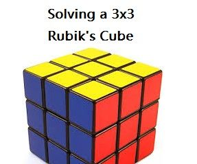 How to Solve a 3x3 Rubik's Cube