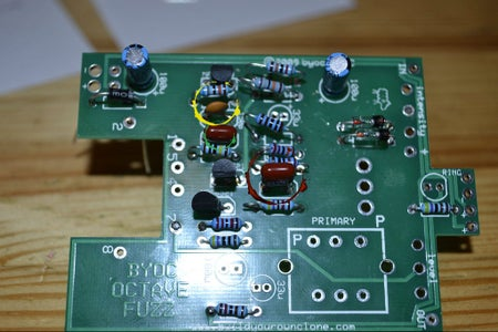 Part a Step 3: Adding Film and Disc Capacitors