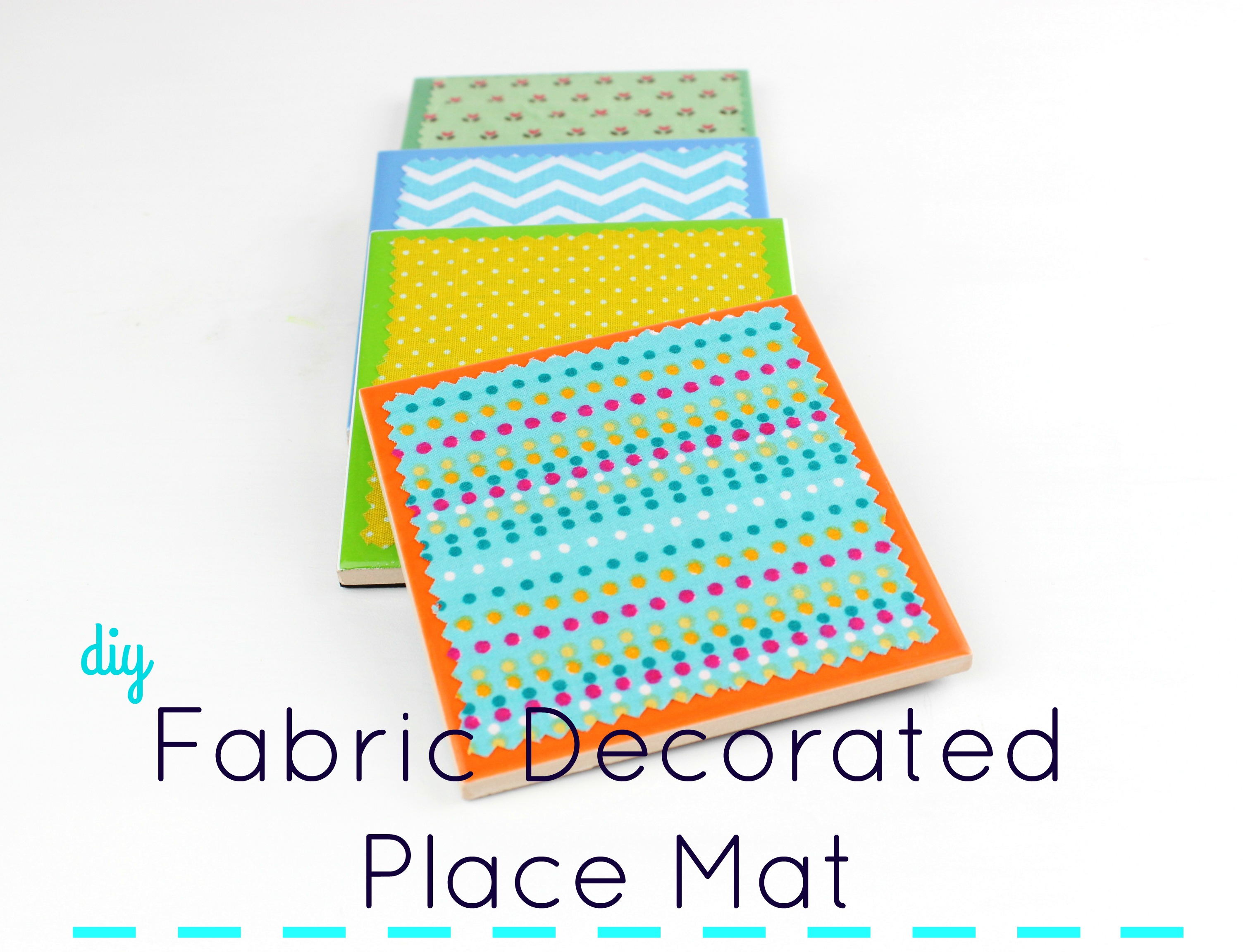 Picture of Fabric Decorated Place Mat!!