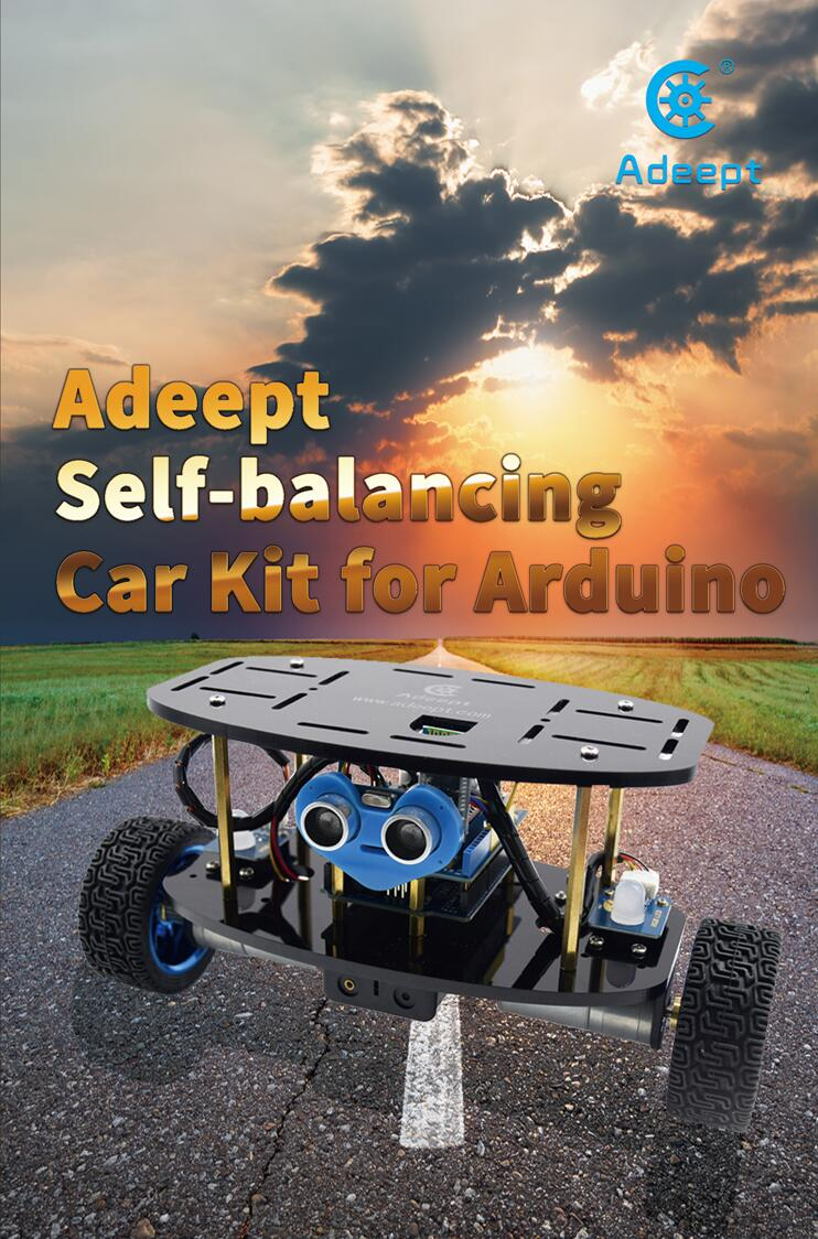 Picture of Adeept Self-balancing Car Kit for Arduino