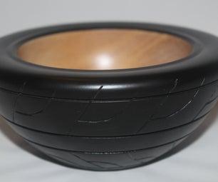 Tyre Bowl- Basic Bowl Turning