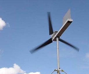 Crear Un Aerogenerador Con Materiales Económicos