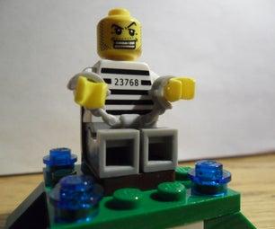 Lego Minifigure Throne