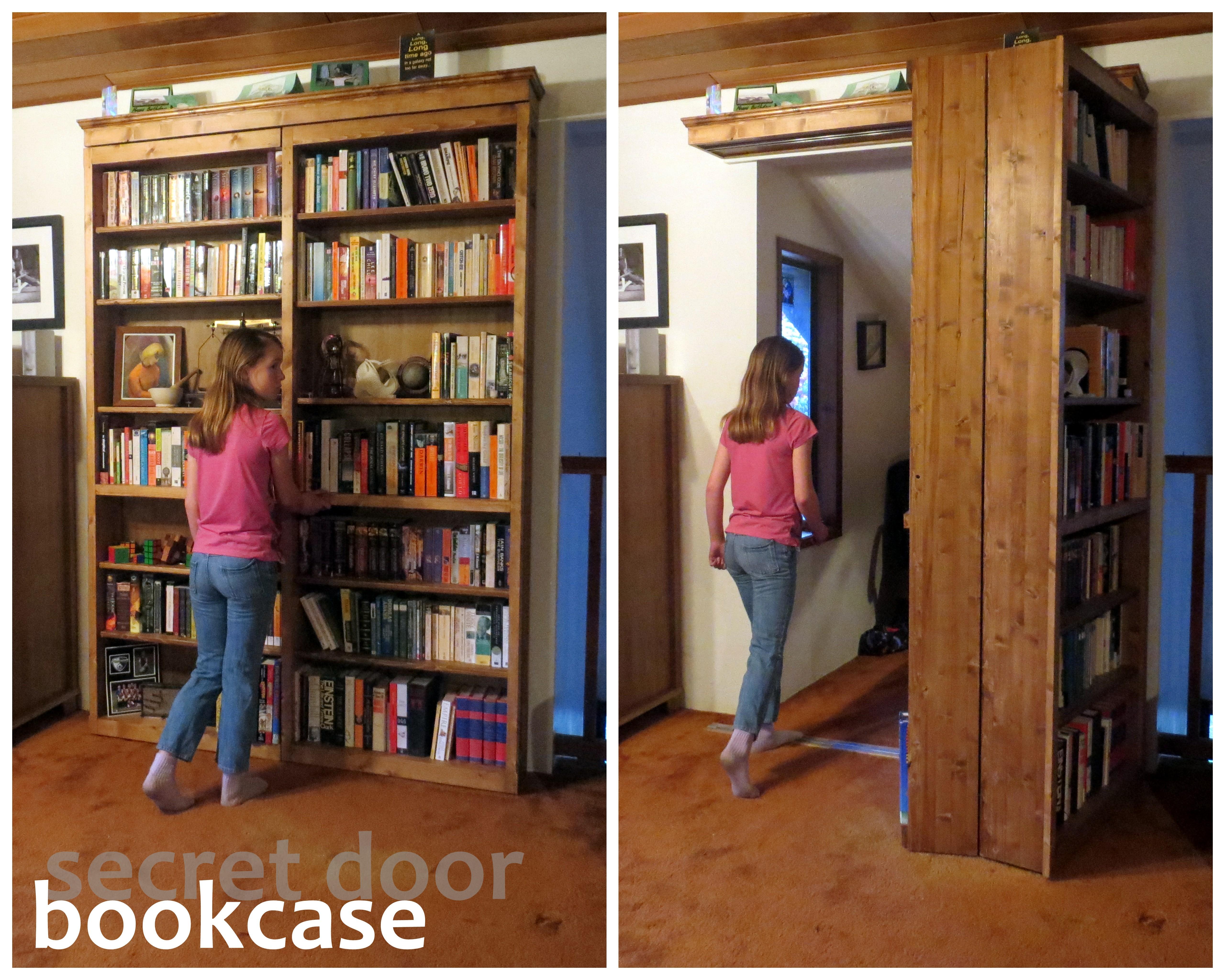 Picture of Secret Door Bookcase
