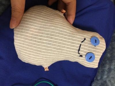 Building a Pressure Sensor Doll