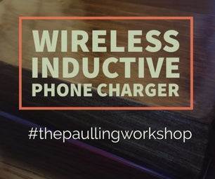 Wireless Inductive Phone Charger