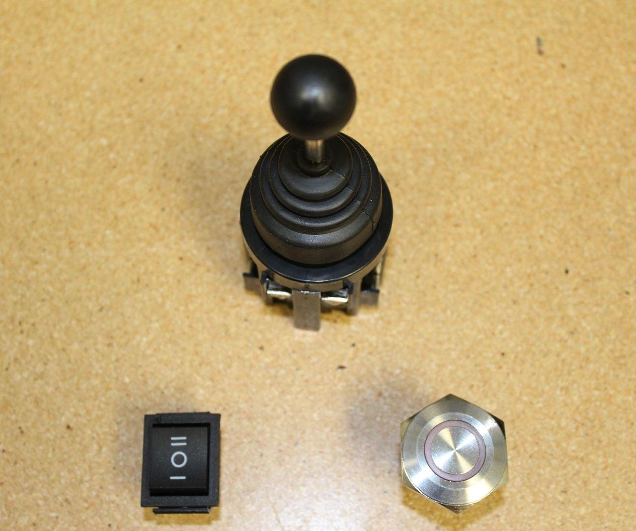 Rocker Switch And Joystick Wiring W Linear Actuators 4 Steps Ac Actuator Diagram
