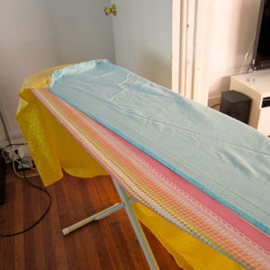 Hem the Back Edge of the Table Top