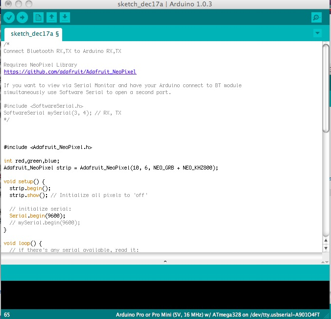 Picture of Install the Arduino Sketch