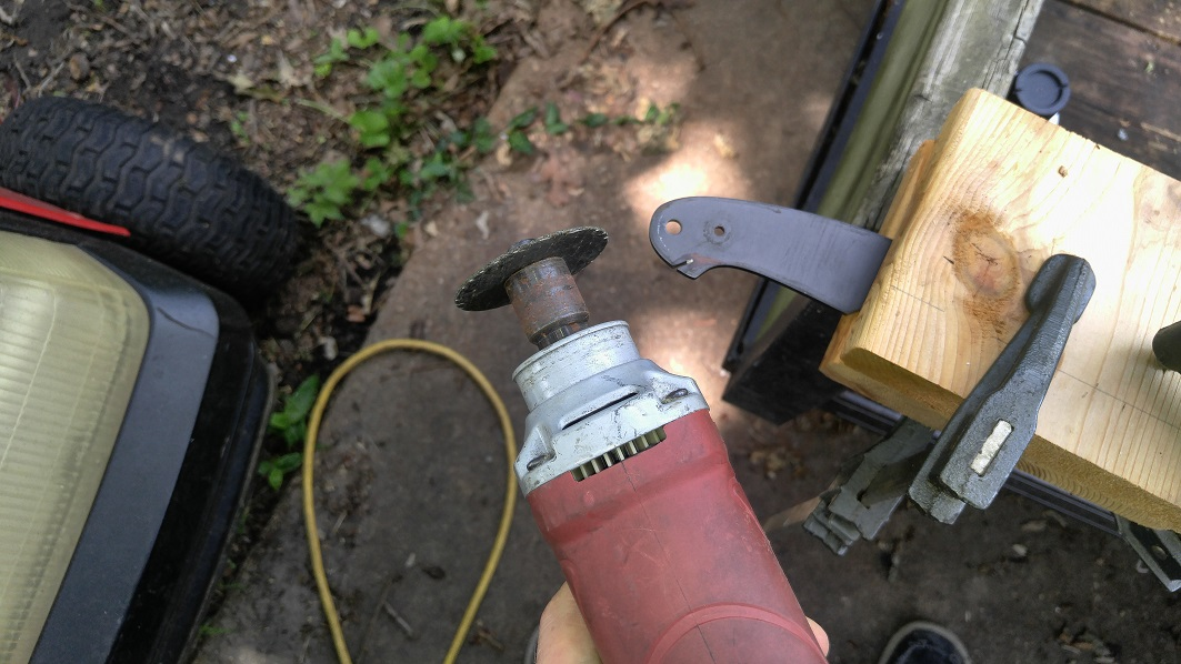 Picture of Make Any Changes to the Handle Shape of Your Knife.