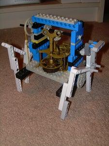 Klokwerx - a Six Legged Clockwork/lego Automaton
