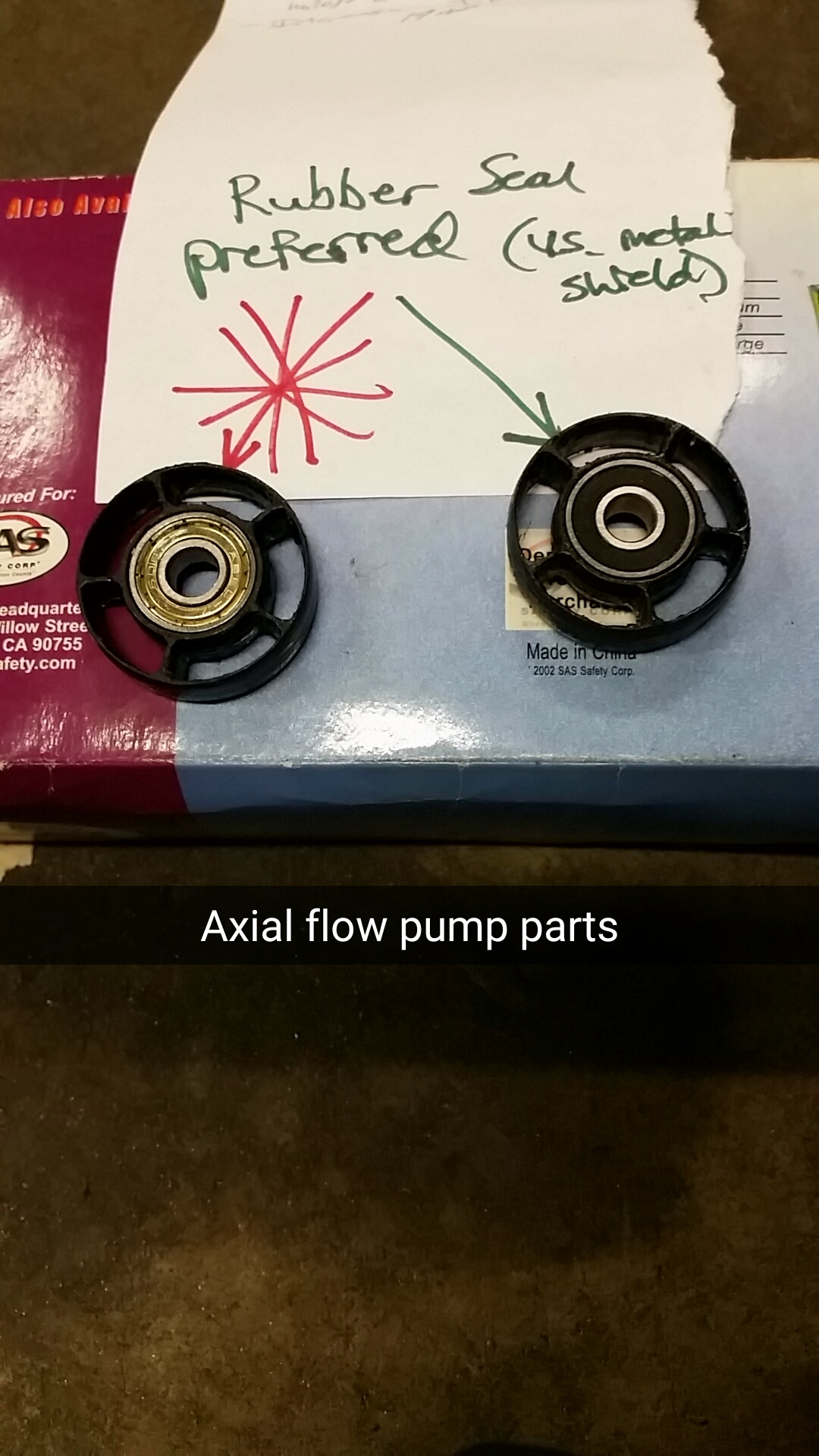 Picture of Axial Flow Pump Construction