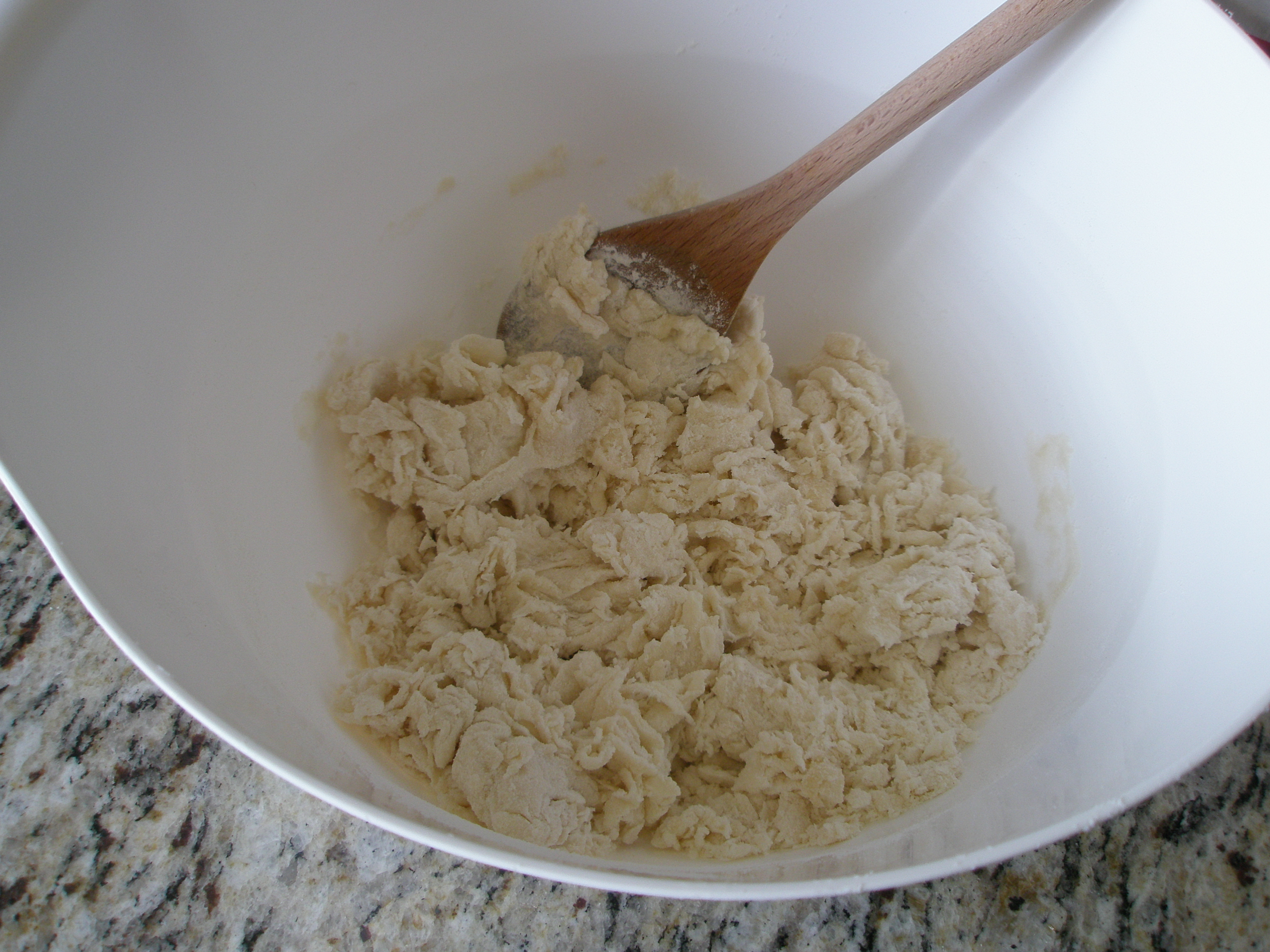Picture of Making the Crackers - the Dough