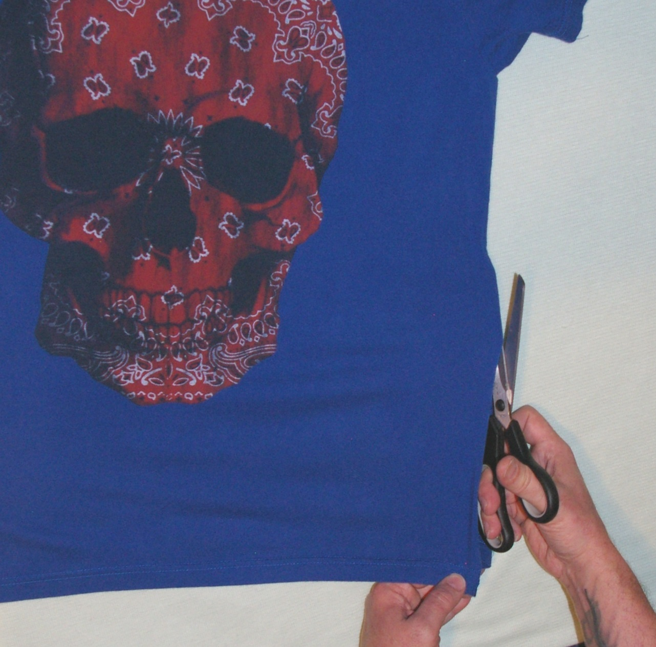 Picture of Prepping the T-Shirt