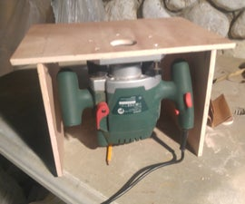 Easy to Make Small Router Table