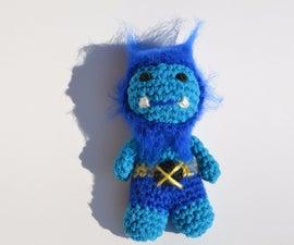 Crochet Beast from X-Men