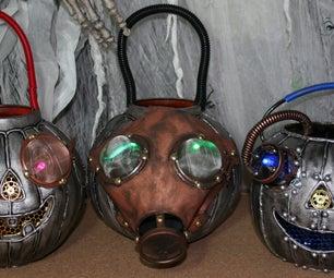 Gena Rumple's Steampunk Pumpkins