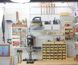 How To Build a French Cleat Organizing System