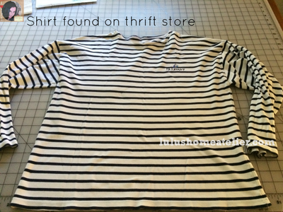Go to Thrift Shop: Find an Oversized Piece. Focus on Fabric Quality, Not Actual Design