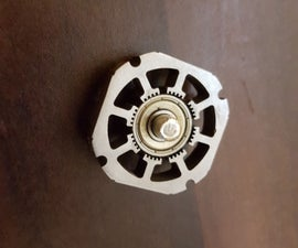 Fidget Hand Spinner From Old Hard Drive