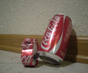 """""""Soda Watch"""" Make a Watch Out of a Soda Can"""