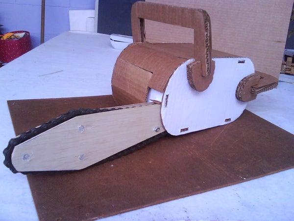 Cardboard Chainsaw