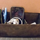 Simple Compact Cardboard Organizer