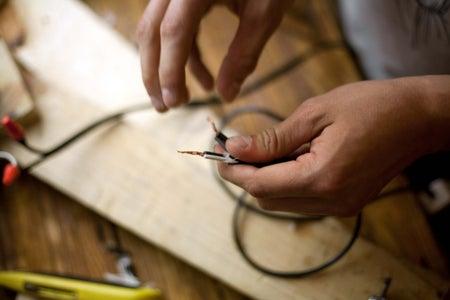 Install Electrical Plug