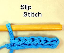 How to Crochet the Slip Stitch