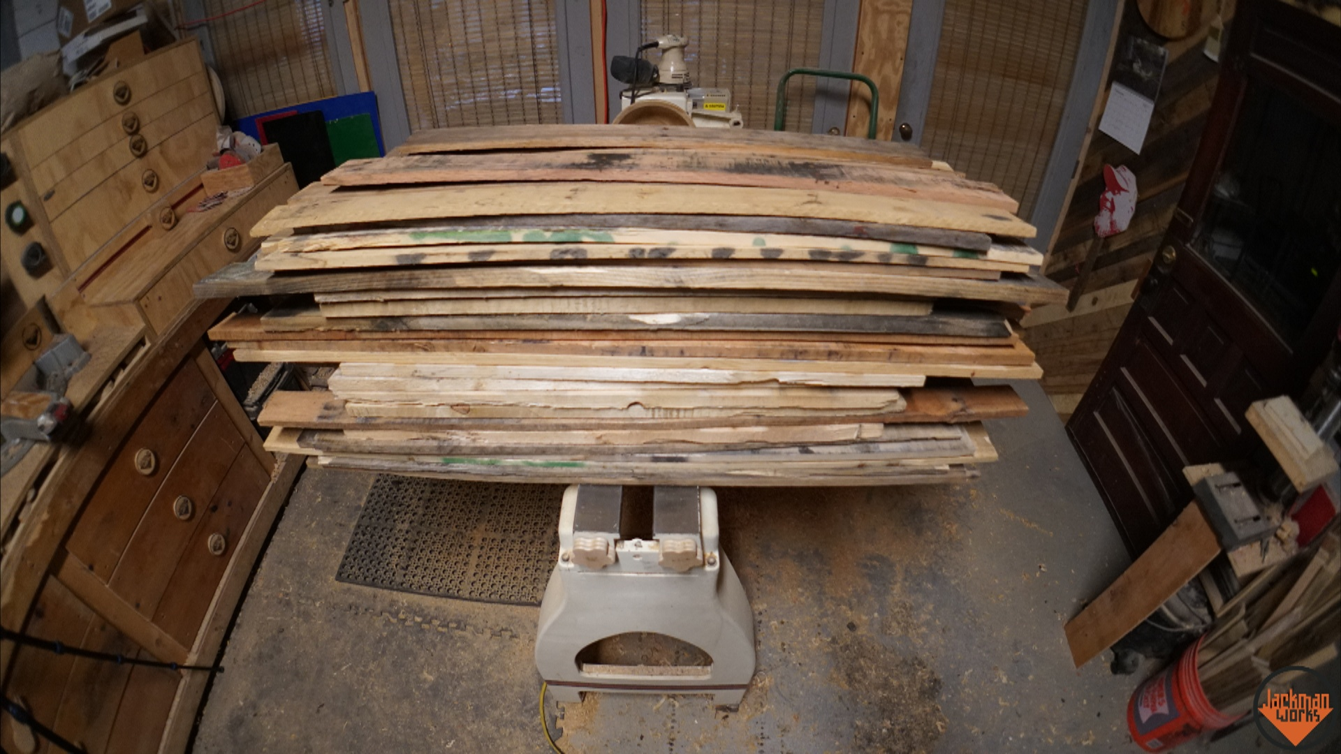 Picture of Materials & Pallet Disassembly