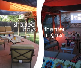 Perfect Patio - Shaded Days to Theater Nights