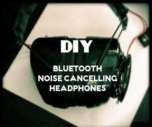 DIY Noise Cancelling Bluetooth Headphones