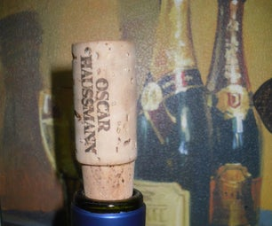 THE FIRST, REAL WINE STOPPER  (or Excuses to Grow Your Shop)