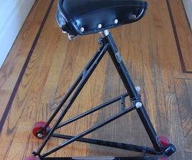 Bike Frame Triangle Chair