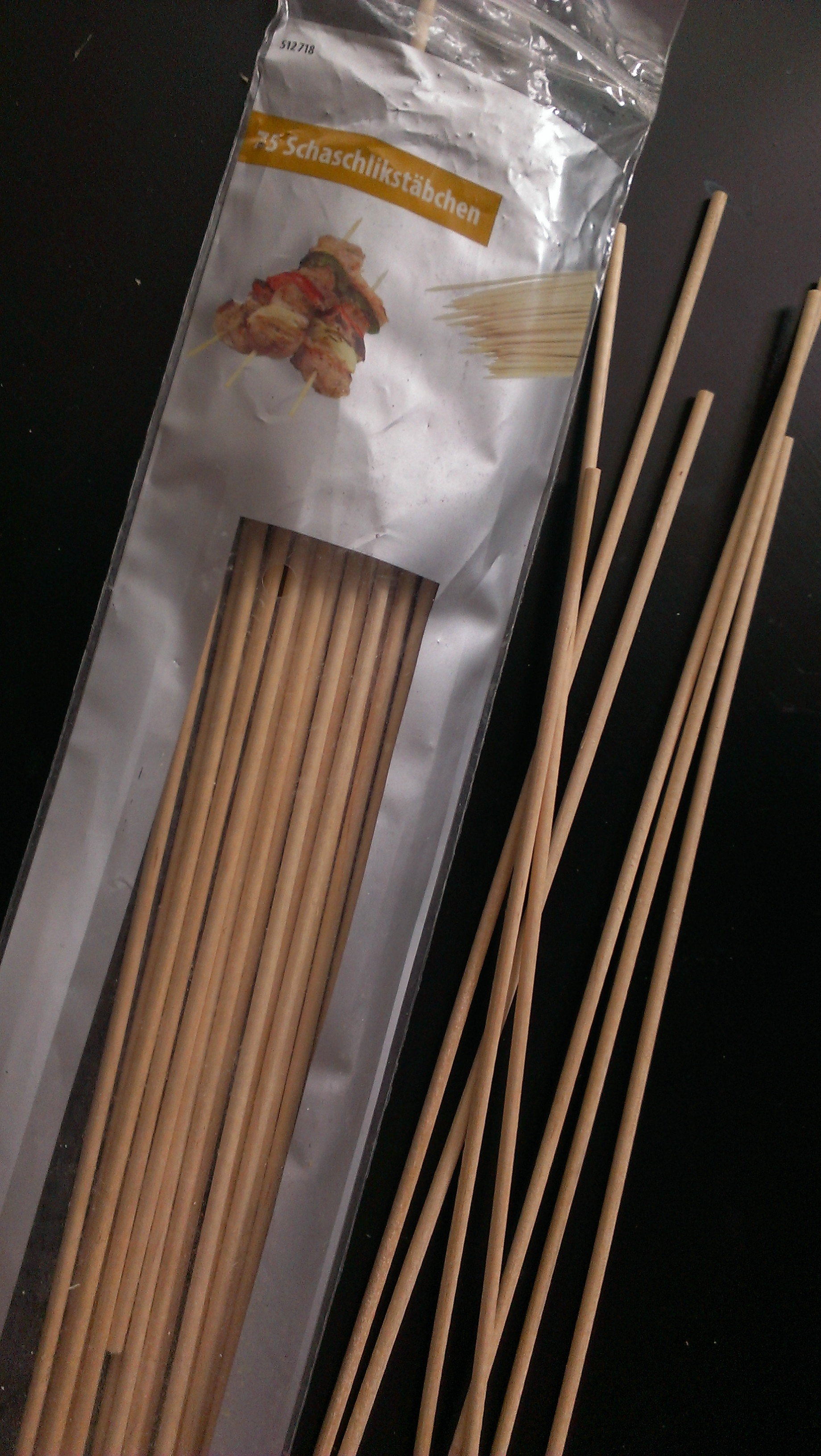 Picture of Cutting the Skewers