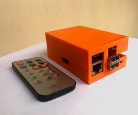 Raspberry Pi Presentation Machine With Remote Control