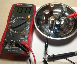 Battery Testing Helper- Magnetic Parts Tray